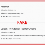 Google Removes Ad blocking Extensions from Extension Gallery Front Page