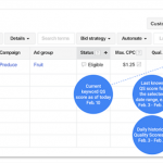 How to Create a Quality Score Report for AdWords